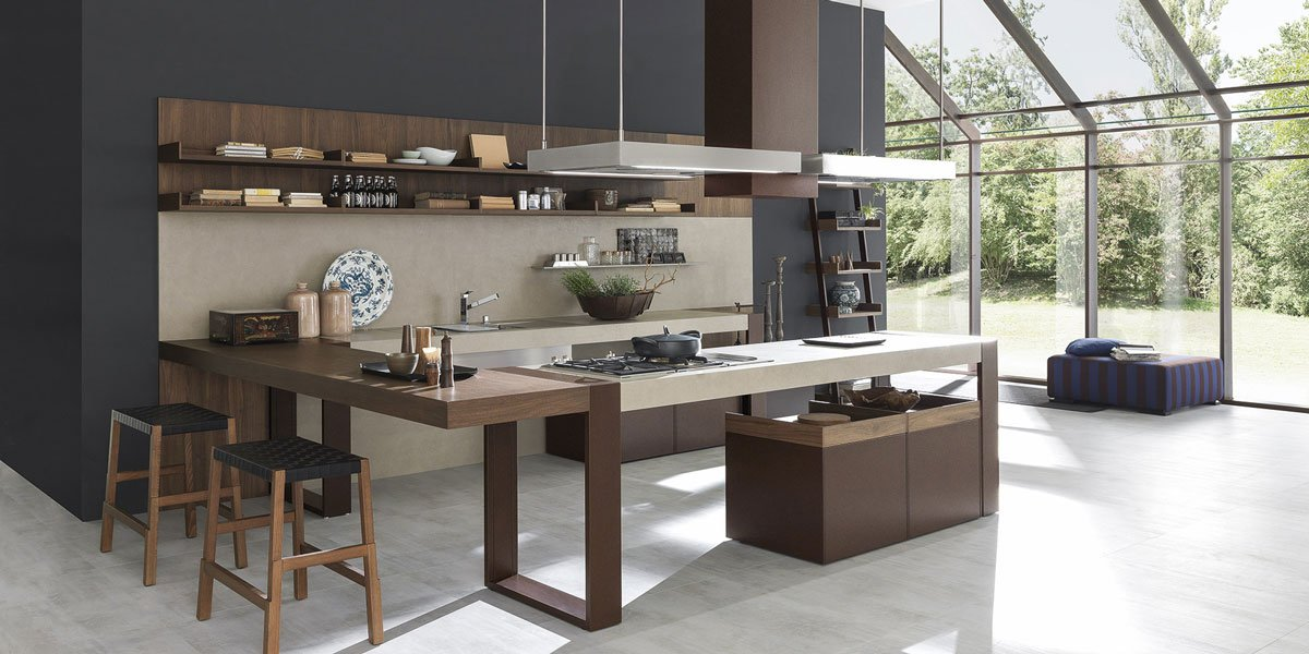 Pedini cucine bagni e living di design made in italy for Venezia cucine